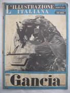 382E/32  RIVISTA L'ILLUSTRAZIONE ITALIANA N.49 DEL 5 DICEMBRE 1943 FATTI E AVVENIMENTI DELLA GUERRA - Guerra 1939-45