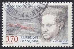 FRANCE Francia Frankreich - 1995 , Yvert 2939 - Centenaire De La Naissance De Jean Giono, 3,70 F, Oblitéré - Frankreich