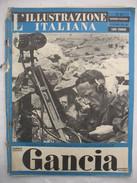 382E/35  RIVISTA L'ILLUSTRAZIONE ITALIANA N.43 DEL 24 OTTOBRE 1943 FATTI E AVVENIMENTI DELLA GUERRA - Guerra 1939-45