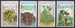 British Indian Ocean Territory Flowers MNH Set - Plants