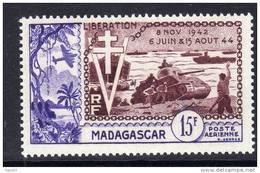 Madagascar  P.A.  N° 74 XX 10ème Anniversaire De La Libération Sans Charnière TB