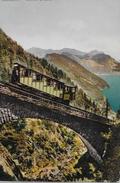 PILATUSBAHN → Bahn Auf Dem Wolfort - Viadukt, Ca.1910 - NW Nidwalden