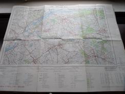 Belgie Stafkaart LIER - BERLAAR 16/5-6 - 1/25.000 M834 - 1973 ! - Europe