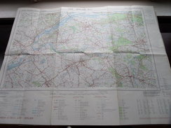 Belgie Stafkaart LIER - BERLAAR 16/5-6 - 1/25.000 M834 - 1973 ! - Europa