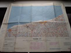 Belgie Stafkaart VEURNE C 5 - 1/100.000 M 632 - 1954 ! - Europe