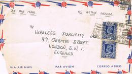 23284. Frontal Aereo BURMA (Birmania) 1940 To London - Myanmar (Burma 1948-...)