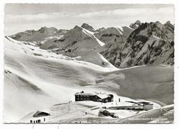 Cpsm: ALLEMAGNE - OBERSTDORF -  Nebelhornbahn Bergstation  1964 - Oberstdorf