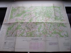 Duitsland Stafkaart SCHLEIDEN C 19 - 1/100.000 M 632 - 1955 ! - Europe