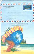 "Nle-Caledonie Aerogramme YT 12 "" Baie "" 1989 Neuf**"