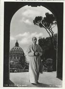 The Pope  -  S. S. Pio XII Nei Giardini - Vatican