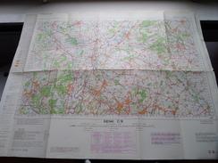 België Stafkaart GENK C 9 - 1/100.000 M 632 - 1955 ! - Europe