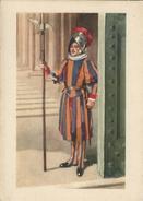 Citta Del Vaticano.  Guardia Swizzera Al Pertone Di Bronzo.  # 0189 - Vatican