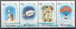Tuvalu MNH Space Set