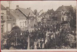 Oude Foto Te Identificeren Onbekend Inconnu Processie Procession Vermoedelijk Uit De Streek Rond Antwerpen - Belgique
