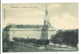 CHAMPLITTE - Le Château Et L'Ancien Clocher - Francia