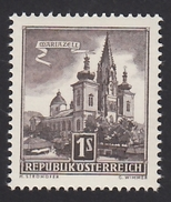 ÖSTERREICH 1957 ** Basilika Mariazell - MNH