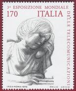 1979 - World Telecommunications Exhibition -  Yt:IT 1400 - MNH - 6. 1946-.. Repubblica
