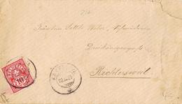 23288. Carta KAPPEL (Soleura) Solothurn Suisse 1889