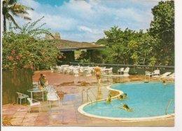 Lsp.041  - Ile De Guam - Piscine Et Hotel - Posté Et Oblitéré Du Porte Helicoptère Jeanne D'Arc - - Guam