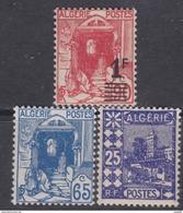 Algérie N° 136 / 37 + 158 XX Les 3 Valeurs Sans Charnière, TB