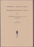 Entomologie -these Etude Insectes Keratophage -Georges Chauvin -lepidoptera Tineidae -mite -Rennes 1977 -entomology