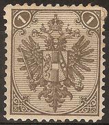 1879 -1894 - BiH Redovne 1 Krajcara Z.12 - Bosnia And Herzegovina