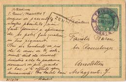23291. Tarjeta Entero Postal TRIESTE (imperio Astro Hungaro)  1918. ZENSURIERT K.u.K.