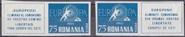 Eur_ Rumänien - Postfrisch MNH - Europa 1960 - Vignetten Geschnitten - Europa-CEPT