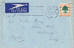 23292. Carta Aerea DURBAN (South Africa) 1936 To England - África Del Sur (...-1961)