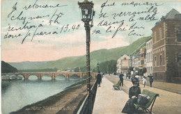 NAMUR / PROMENADE DE LA MEUSE / LE LONG DU QUAI  1907
