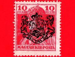 UNGHERIA - Nuovo - 1918 - Re Carlo IV - Sovrastampato - 10