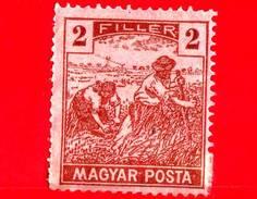 UNGHERIA - Nuovo - 1919 - Agricoltura - Raccolti - Mietitore - 2