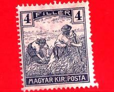 UNGHERIA - Nuovo - 1919 - Agricoltura - Raccolti - Mietitore - 4