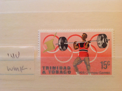 Trinidad And Tobago 1968 15c Olympic Games (inverted Watermark) MNH SG 335w