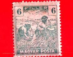 UNGHERIA - Nuovo - 1919 - Agricoltura - Raccolti - Mietitore - 6