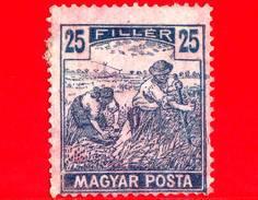 UNGHERIA - Nuovo - 1919 - Agricoltura - Raccolti - Mietitore - 25