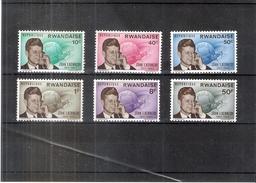 J.F.Kennedy - République Rwandaise - 122/27 - XX/MNH - Série Complète