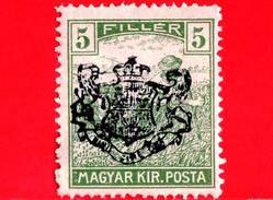 UNGHERIA - Nuovo - 1919 - Agricoltura - Raccolti - Mietitore - Reaper - Sovrastampato - 5