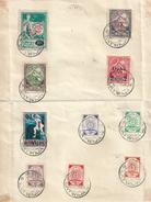 LETTONIE Timbres Affranchissements Complaisance 1921