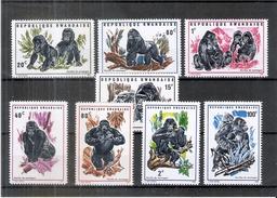 Gorilles Des Montagnes - République Rwandaise - 370/77 - XX/MNH - Série Complète