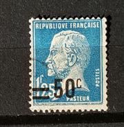 YT222 - Type Pasteur Avec Surcharge 50c Sur 1f25 - Oblitere