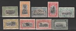 Congo Belge N° 54 à 63 ** Sauf 55,57 Et 58 (o)