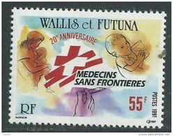 """Wallis Et Futuna N° 407  XX  20ème Anniversaire De """"Médecins Sans Frontières"""" Sans  Charnière,  TB"""
