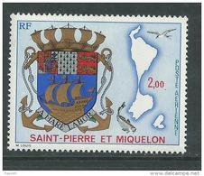 St Pierre Et Miquelon P A N° 58 XX  Armoiries Sans Charnière, TB
