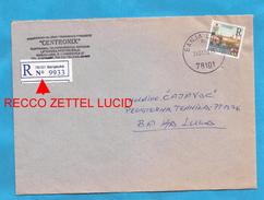 1999  115 TURISMO TREBINJE RECCO ZETTEL PAPIER LUCID   BOSNIA HERZEGOVINA REPUBLIKA SRPSKA  BRIEF  INTERESSANT
