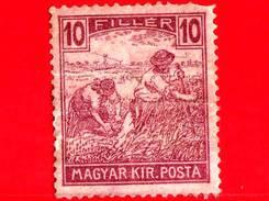 UNGHERIA - Nuovo - 1920 - Agricoltura - Raccolti - Mietitore - 10