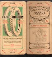 Carte MICHELIN (BIBENDUM AU CIGARE) N°25 Lons Le Saunier (4) (F.1071) - Cartes Routières