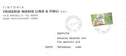 £170 EUROPA SU BUSTA TINTORIA FRIGERIO MONTORFANO COMO - 1979