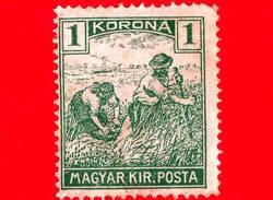 UNGHERIA - Nuovo - 1922 - Agricoltura - Raccolti - Mietitore - 1