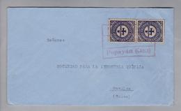 Kolumbien 1926-02-04 Popayan Nach Basel Mit 2xMi#297 - Colombie